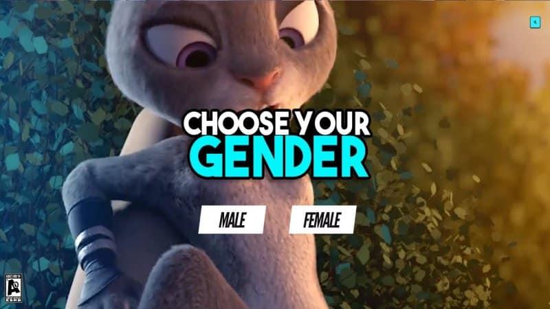 Choose Your Gender